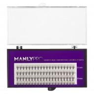 Набор ресниц в пучках Manly Pro шелк 10, 12 мм РП07: фото