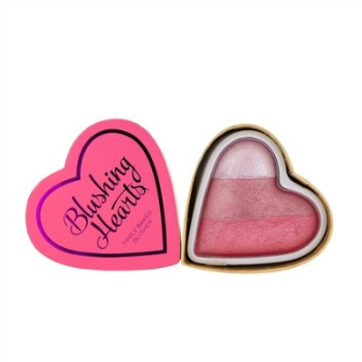 Румяна I Heart Makeup Blushing Hearts MakeUp Revolution Bursting with love: фото