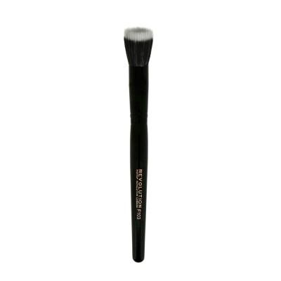 Кисть для тональной основы Pro F103 Stippling Brush Makeup Revolution: фото