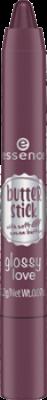 Губная помада в стике Essence Butter stick glossy love 01 ягодный: фото