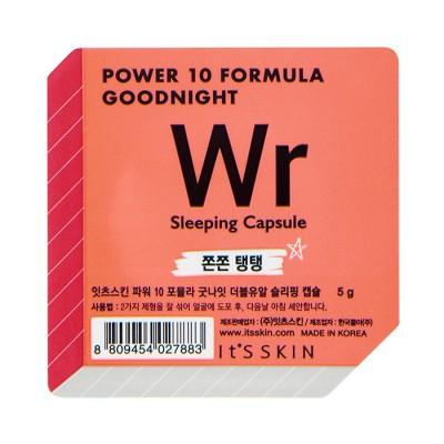 Ночная маска-капсула It's Skin Power 10 Formula Goodnight, лифтинг, 5г: фото