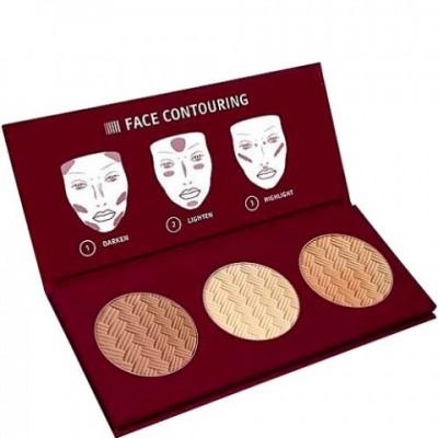 Палетка для скульптурирования лица Affect Contour Pallet: фото
