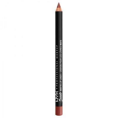 Карандаш для губ NYX Professional Makeup Suede Matte Lip Liner - ALABAMA 34: фото