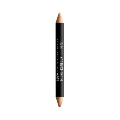 Карандаш для контуринга NYX Professional Makeup MICRO CONTOUR DUO PENCIL - LIGHT 01: фото