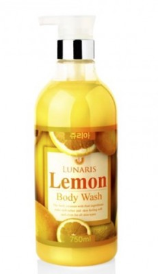 Гель для душа с экстрактом лимона LUNARIS Body wash lemon 750 мл: фото