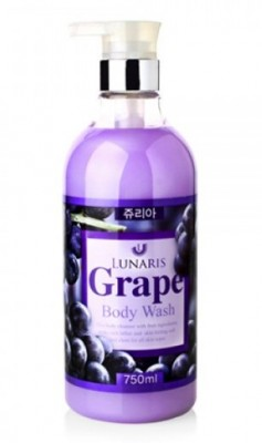 Гель для душа с экстрактом винограда LUNARIS Body wash grape 750 мл: фото