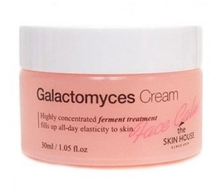 Крем ферментированный с глактомисисом THE SKIN HOUSE Face calming galactomyces cream 30мл: фото