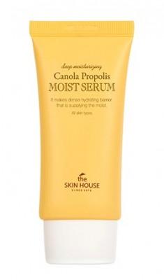Сыворотка увлажняющая с прополисом THE SKIN HOUSE Canola propolis moist serum 50мл: фото