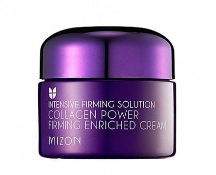 Крем укрепляющий коллагеновый MIZON Collagen Power Firming Enriched Cream: фото
