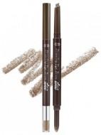 Карандаш для бровей двойной ETUDE HOUSE Drawing Eye Brow Duo №04 Red Brown: фото