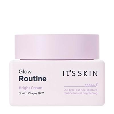 Крем выравнивающий тон лица It's Skin Glow Routine Bright Cream 50 мл: фото