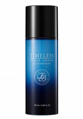 Флюид для лица для мужчин SNP Timeless black homme all-in-one fluid 120 мл: фото
