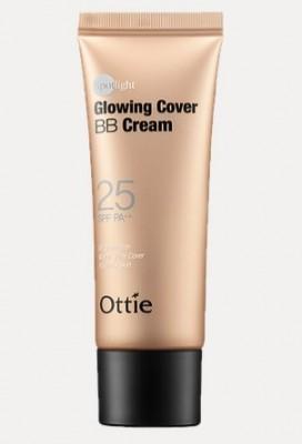Увлажняющий и легкий ВВ-крем OTTIE Spotlight Glowing Cover BB Cream SPF25 40мл: фото