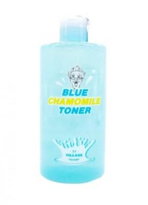 Тонер с экстрактом голубой ромашки VILLAGE 11 FACTORY Blue Chamomile Toner: фото