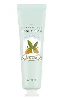 Крем-баттер для рук с маслом жожоба A'PIEU Cerabutter Hand Cream Jojoba Butter: фото