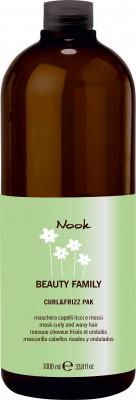 Маска для кудрявых волос NOOK Beauty Family Curl&Frizz Ph5,0 1000 мл: фото