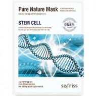 Маска для лица тканевая Anskin Secriss Pure Nature Mask Pack- Stem cell 25мл: фото