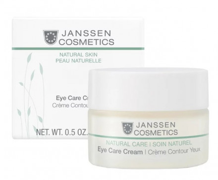 Крем для кожи вокруг глаз разглаживающий и укрепляющий Janssen Cosmetics Organics Eye Care Cream 15мл: фото