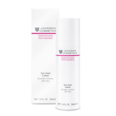 Эмульсия для чувствит кожи вокруг глаз Janssen Cosmetics Eye Care Lotion 30 мл: фото