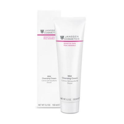 Крем деликатный очищающий Janssen Cosmetics Mild Cleansing Cream 150 мл: фото