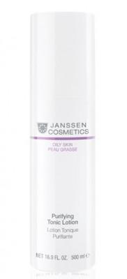 Тоник-лосьон для жирной кожи с акне Janssen Cosmetics Purifying tonic lotion 500мл: фото