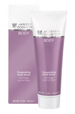 Скраб для тела кислородонасыщающий Janssen Cosmetics Oxygenating Body Scrub 200 мл: фото