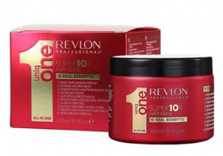 Супер-маска для волос Revlon Professional UNIQ ONE SUPERMASK 300мл: фото