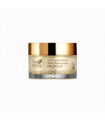 Крем-бальзам для лица увлажняющий TheYEON Jeju Canola Honey Water Balm Cream Propolis 50гр: фото