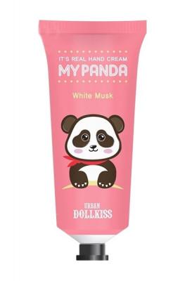 Крем для рук Baviphat Urban Dollkiss It's Real My Panda Hand Cream 01 WHITE MUSK 30г: фото