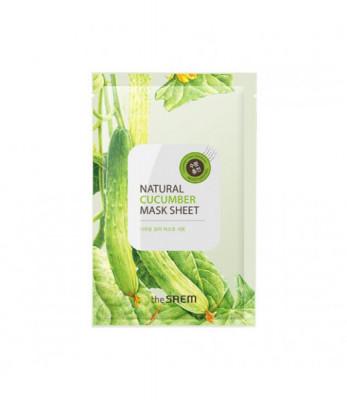 Маска тканевая с экстрактом огурца THE SAEM Natural Cucumber Mask Sheet NEW 21мл: фото