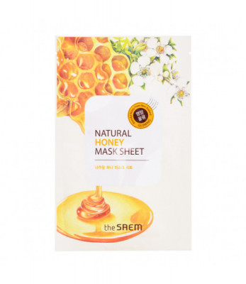 Маска тканевая с экстрактом меда THE SAEM Natural Honey Mask Sheet 21мл: фото