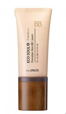 BB-крем THE SAEM Eco Soul Porcelain Skin BB Cream 02 Natural Beige 45гр: фото