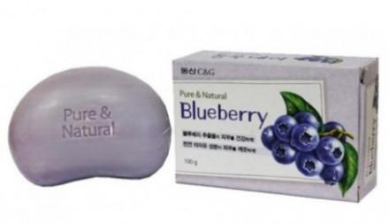 Мыло туалетное Clio Blueberry Soap 100г: фото