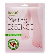 Маска-носочки для ног Petitfee Koelf Melting Essence Foot Pack: фото