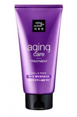 Маска для волос антивозрастная MISE EN SCENE Aging Care Treatment Pack 330мл: фото