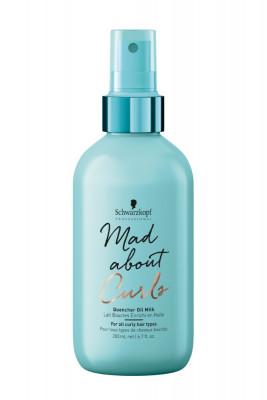 Молочко масляное для тонких, нормальных и жестких волос Schwarzkopf Professional Mad About Curls Quencher Oil Milk 200 мл: фото