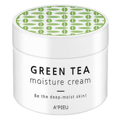 Крем для лица увлажняющий A'PIEU Green Tea Seed Moisture Cream 110мл: фото