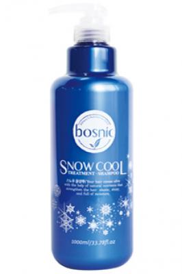 Шампунь для волос BOSNIC Snow Cool Shampoo 1000 мл: фото