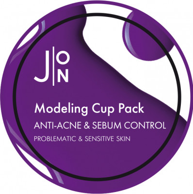 Альгинатная маска АНТИ-АКНЕ И СЕБУМ КОНТРОЛЬ J:ON ANTI-ACNE & SEBUM CONTROL MODELING PACK 18г: фото