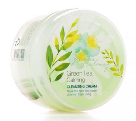 Крем для снятия макияжа с зеленым чаем It's Skin Green Tea Calming Cleansing Cream 200 мл: фото
