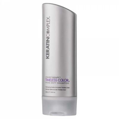 Шампунь для поддержания яркости цвета Keratin Complex Timeless Color Fade-Defy Shampoo 400мл: фото
