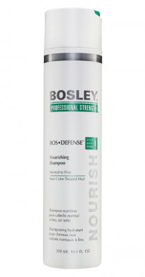 Шампунь питательный для нормальных/тонких неокрашенных волос Bosley Воs Defense Step 1 Nourishing Shampoo Normal To Fine Non Color-Treated Hair 300мл: фото