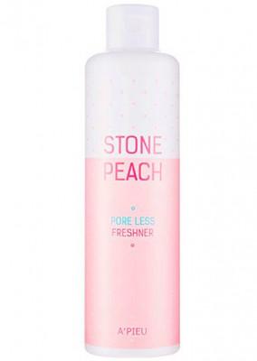 Тонер для сужения пор A'PIEU Stone Peach Pore Less Freshner 250мл: фото