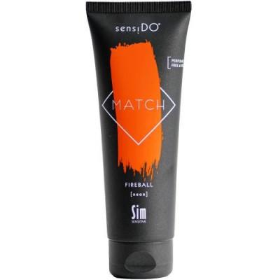 Краситель прямого действия Sim Sensitive SensiDo Match Color Gloss Fireball neon оранжевый неоновый125мл: фото