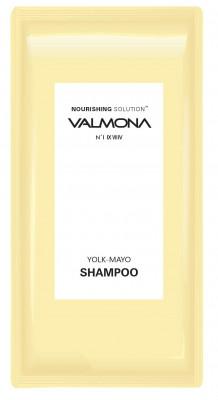 Набор для волос: Шампунь ПИТАНИЕ EVAS VALMONA Nourishing Solution Yolk-Mayo Shampoo, 10мл*50 шт: фото