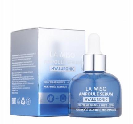 Сыворотка ампульная увлажняющая для лица LA MISO Ampoule Serum Hyaluronic 35 мл: фото