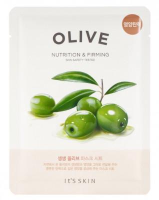 Тканевая маска интенсивно увлажняющая с маслом оливы It'S SKIN The Fresh Olive Mask Sheet 22 г: фото