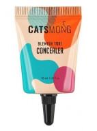Консилер увлажняющий CATSMONG Blemish Tok Concealer 02 Vanilla Beige бежевый 10 мл: фото