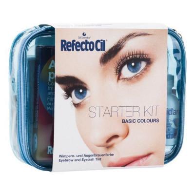Стартовый набор для окраски бровей RefectoCil Basic Colours: фото