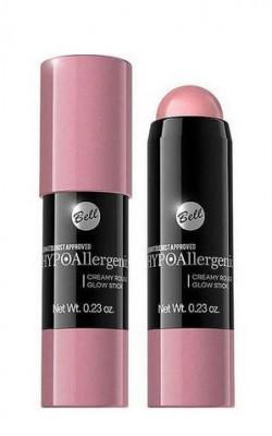Румяна в виде Карандаша Bell Hypoallergenic Creamy Rouge Glow Stick Тон 01: фото